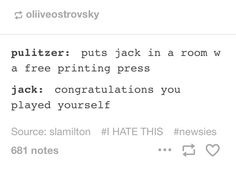 I can totally imagine Jeremy (Jack) saying this.