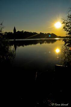 Reflections at sunrise....