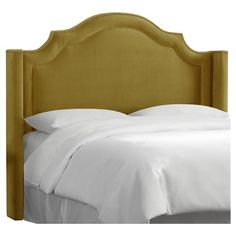 Nail Button Arched Wingback Headboard - Skyline Furniture : Target