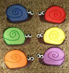 Snail Door decs by leigh