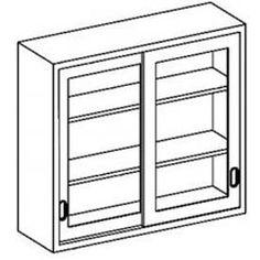 Faktum wall cabinet with sliding doors ikea sliding doors for Kitchen wall cabinets sliding glass doors