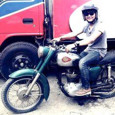 BSA C15 #classicmotorcycle #vintage #old #BSA #C15