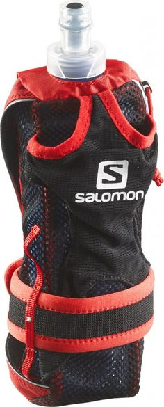 Rękawica z bidonem Salomon Park Hydro Handset Bright Red/White | MALL.PL