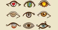 Schauen Sie sich diese Bilder sorgfältig an. Das Auge, welches Ihnen am besten gefällt, wird Ihnen viel über Ihre eigene Persönlichkeit verraten