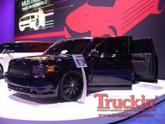 Custom Ford flex with suicide doors and murdered. Its like someone built an old & Ford Flex - Car and Driver | Izzyu0027s Flex | Pinterest | Ford flex ... markmcfarlin.com