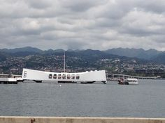 The USS Arizona memorial.