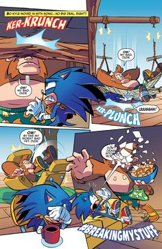 Sonic Boom - Issue #11 - Comics - Sonic SCANF Lol v: