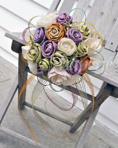 A super gorgeous bouquet made entirely from NZ flax - so yummy and will last forever.  By Hapene Flax NZ Ltd