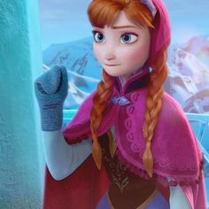 I feel like this deserves discussion. Particularly about her eyes. And hair. And clothes. And just this whole thing. #frozen #disney