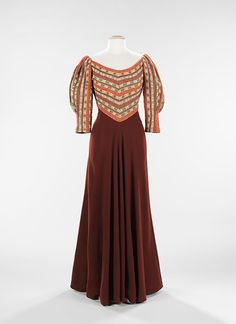 Evening Dress    Elizabeth Hawes, 1935    The Metropolitan Museum of Art