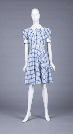 1930s dress via The Goldstein Museum of Design