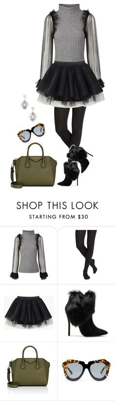 """Untitled #3290"" by elia72 ❤ liked on Polyvore featuring Aviù, Schutz, Givenchy, Karen Walker and John Hardy"