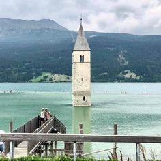 It is an artificial lake in the western portion of South Tyrol. Its surface area of km² makes it to the largest lake above m in the Alps. - In the summer i biked there about 5 days long South Tyrol, Surface Area, Top Destinations, Natural Wonders, Alps, All Over The World, Westerns, Vacation, Eat