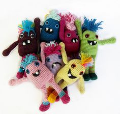 Amigurumi Little Monsters : 1000+ images about Amigurumi - aliens and monsters on ...