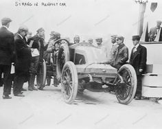 Renault Antique Racing Auto Car 1915 Vintage 8x10 Reprint Of Old Photo
