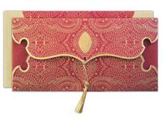 indian traditional wedding card envelope!!!