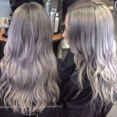 Silver Grey created by our Stylist Lianne