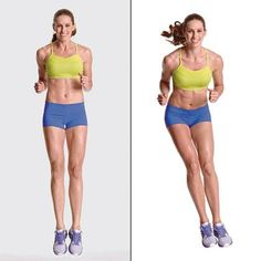 Tone those inner and outer thighs with this hopscotch-inspired move.