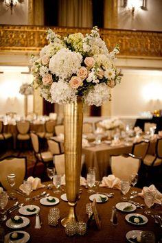 peach gold cream amethyst flowets for wedding tables - Google Search