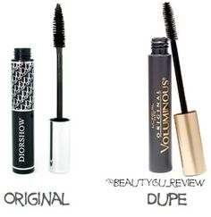 10 beauty product dupes - get more for your money!!!