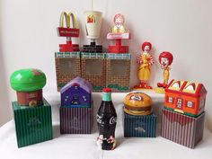 Nu in de #Catawiki veilingen: Collection of   McDonalds merchandise objects
