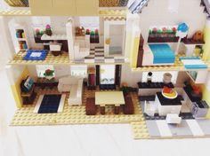 Modern Lego farmhouse