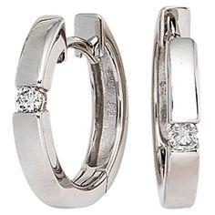 Dreambase Damen-Ohrschmuck Creole 2 Diamant-Brillanten 14... https://www.amazon.de/dp/B00EYGT0A2/?m=A37R2BYHN7XPNV