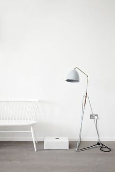 Lean Floor Lamp // Jenny Back // 20% OFF // Sale Starts Saturday June 31 2014 // Two weeks only, furniture in store and selected lighting online (Excludes shipping costs)