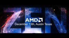 AMD ZEN Processor Preview Event Announced For Dec 13th | AMD ZEN CPU New...