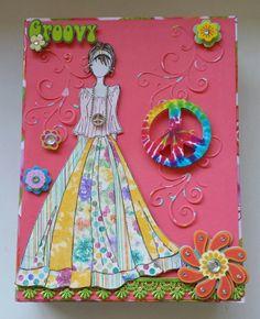 Hippie Prima doll box