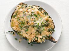 Cheesy Rice-Stuffed Acorn Squash Recipe : Food Network Kitchen : Food Network - FoodNetwork.com