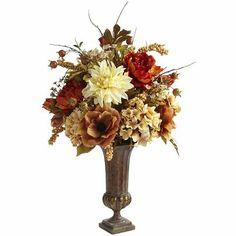 Mixed Artificial Floral Arrangement