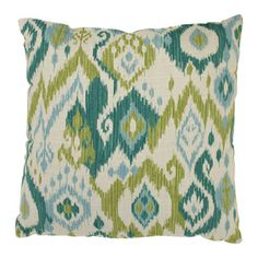 @Overstock.com - Gunnison 16.5-inch Throw Pillow  - Add the finishing touch to your home decor with this throw pillow from Pillow Perfect. A colorful pattern highlights this 10.5-inch throw pillow.   http://www.overstock.com/Home-Garden/Gunnison-16.5-inch-Throw-Pillow/7213664/product.html?CID=214117 $26.78