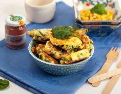 Petites croquettes au maïs : finger food - Et si c'était bon...