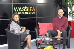 Rebbecca Hemmings interviews Charles Small CEO of The Drum on The Wassifa Caribbean Show.