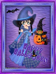 Betty Boop Doll, Betty Boop Halloween, Halloween Magic, Happy Halloween, Halloween 2017, Halloween Ideas, Betty Boop Birthday, Black Betty Boop, Tinkerbell And Friends