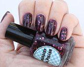 Purple Holographic nail polish Shazaam. $12.00, via Etsy.