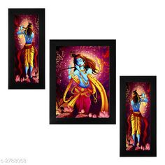 Checkout this latest Religious Posters Product Name: *Trendy Personal Home Painting* Pack: Pack of 3 Product Length: 6 Inch Product Breadth: 13 Inch Country of Origin: India Easy Returns Available In Case Of Any Issue   Catalog Rating: ★4 (357)  Catalog Name: Trendy Personal Home Paintings Vol 1 CatalogID_378367 C128-SC1316 Code: 403-2788058-456
