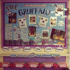 Literacy - The Gruffalo Word Wall Displays, Class Displays, School Displays, Classroom Displays, Gruffalo Activities, Teaching Activities, Teaching Ideas, English Teaching Resources, Primary Teaching