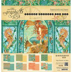 "Graphic 45 Voyage Beneath The Sea Paper Pad 12""x12"""