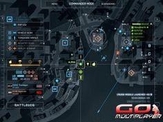 Battlefield 4 - Asedio en Shangai. Vista del modo comandante