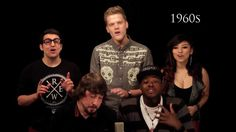 Evolution of Music - Pentatonix  http://www.youtube.com/watch?v=lExW80sXsHs&feature=youtube_gdata_player