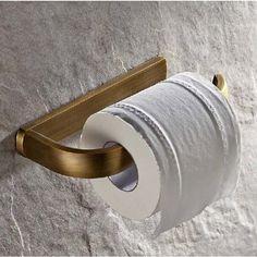 Venda quente Por Atacado E Varejo Promoção NOVO Antique Brass Bathroom Wall Mounted Suporte do Papel Higiénico Suporte de Rolo De Tecido em Suportes de papel de Melhoramento Da casa no AliExpress.com | Alibaba Group