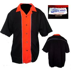 Mens Repro Bowling Shirt / Mens Rockabilly Shirt / by 2the9sRetro, $34.00