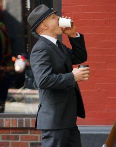 An Observer taking a coffee break,ha! SpoilerTV