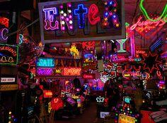 Loja/galeria em Londres para quem gosta de Neon;