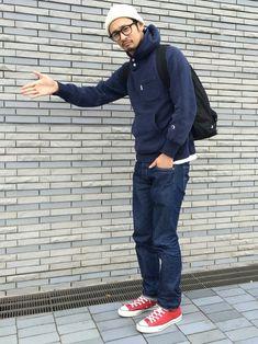 junya_kasugaさんの「泰八郎謹製 GLASSES(uniform experiment)」を使ったコーディネート
