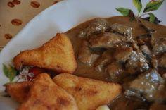 Lacitrom konyha: Vaddisznóragu erdei gombával Rage, Chicken, Food, Meals, Cubs