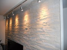 Wandgestaltung Naturstein