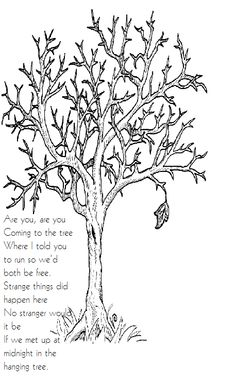 The hunger games Hanging Tree song :) I love this song :,) it's so sad and beautiful !!